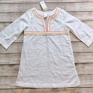 Gymboree Embroidered Swim Cover Up NWT